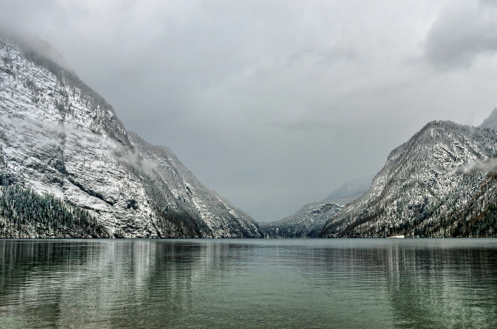 Озеро Кёнигзее Автор: Сергей Вовк