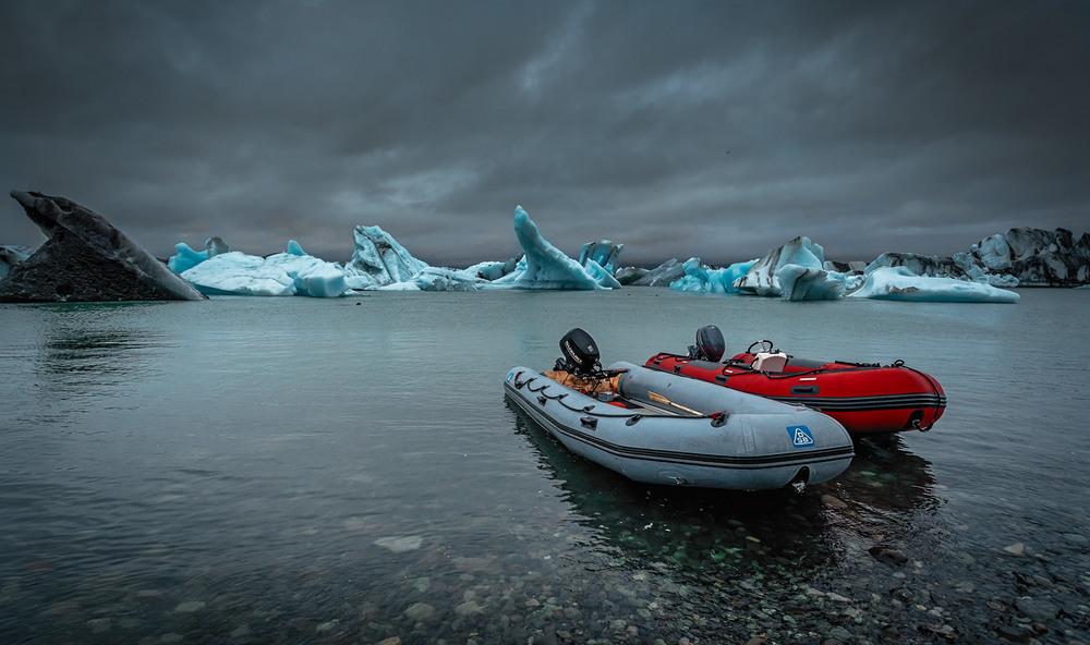 Безмолвие...Ледник... Исландия! Автор: Александр Вивчарик
