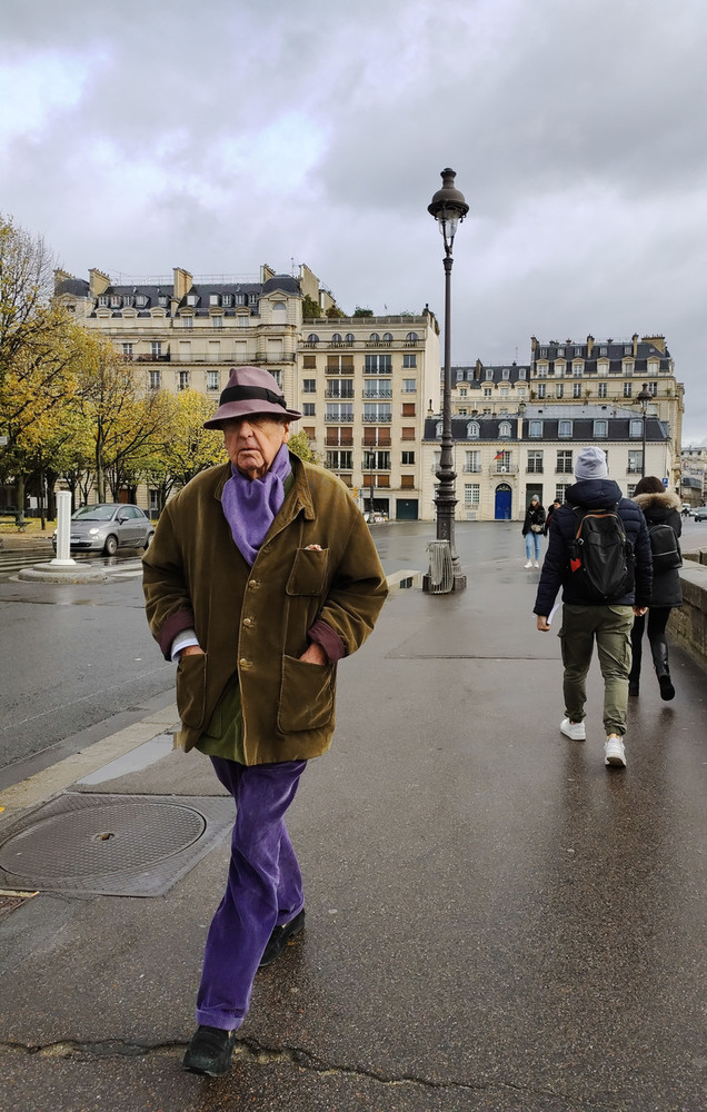 """21  """"Стиляга"""" по-Парижски...Словно город устелен не улицами, а огромным подиумом!"""