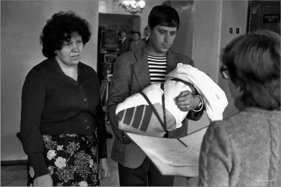 1 Торжественная регистрация новорожденного. ЗАГС Центрального района. Новокузнецк.