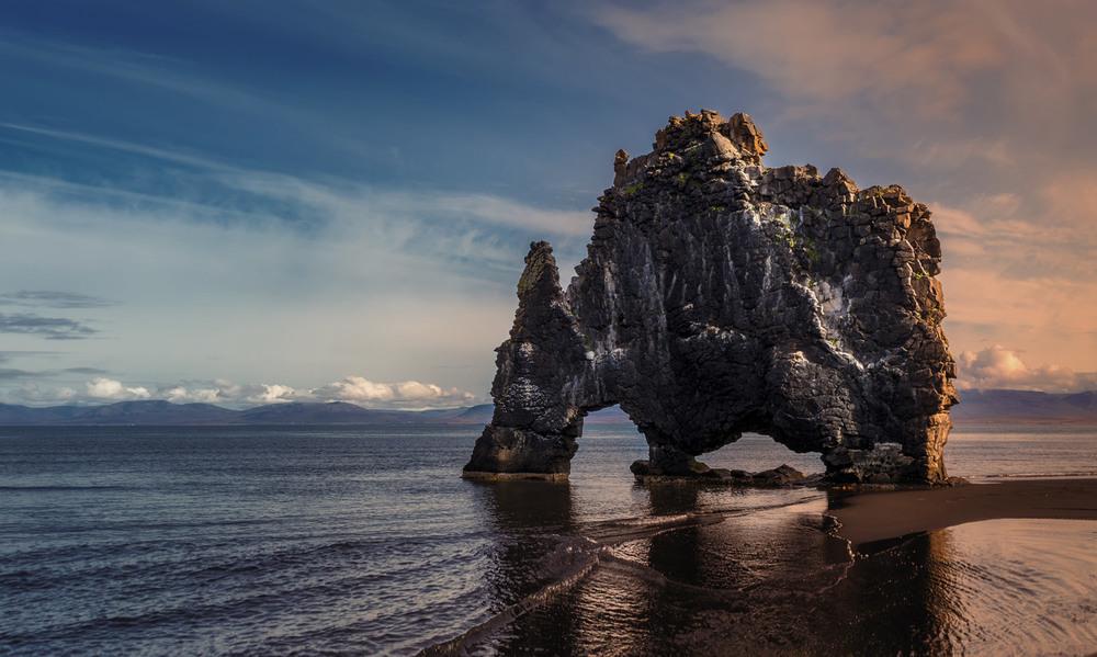 Хвитсеркур — скала Слон в Исландии!!! Автор: Александр Вивчарик
