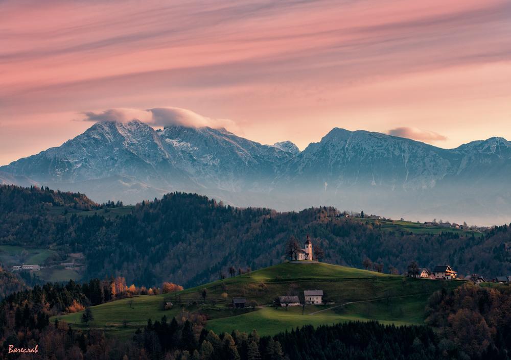 Сонце встає... Юліанські Альпи Автор: В'ячеслав