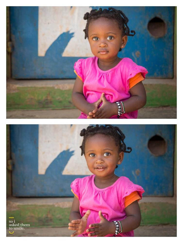 «И тогда я попросил их улыбнуться»