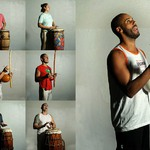 7 Традиционная игра на барабанах или беримбау.