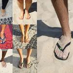 8 Самая распространенная обувь - сланцы.