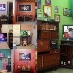 15 Телевизор, как член семьи в Бразилии.