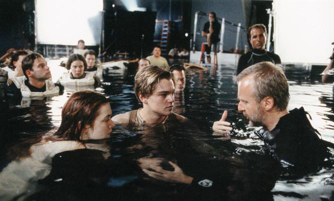 """2 Фильм """"Титаник"""". Работа режиссера Джеймса Кэмерона с актерами."""