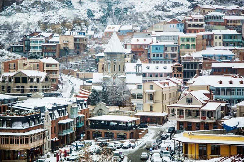 1 Тбилиси зимой. Источник:sakartvelo.cz