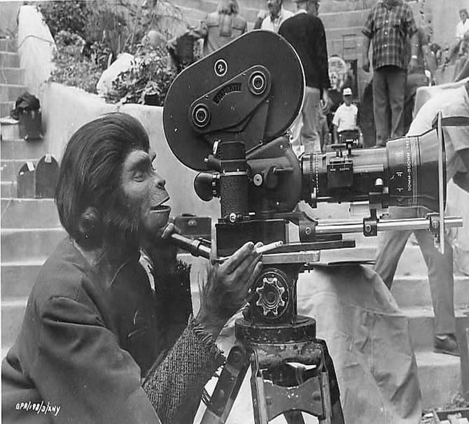"18 Фильм ""Планета обезьян"" 1968 год."