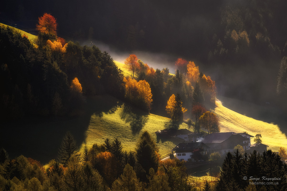 Осінь. Гори. Світло Автор: Сергій Криниця