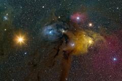 1 Ро Змееносца — двойная звезда в созвездии Змееносца. Состоит из двух компонентов — белого субгиганта спектрального класса B и белой звезды главной последовательности практически этого же спектрального класса. Автор - Phil Hart