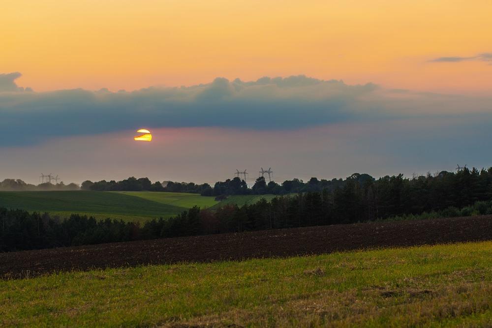 Захід сонця)