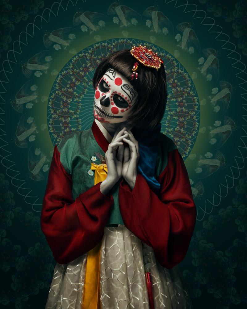 Фантастические образы Las Muertas в исполнении Тима Таддера