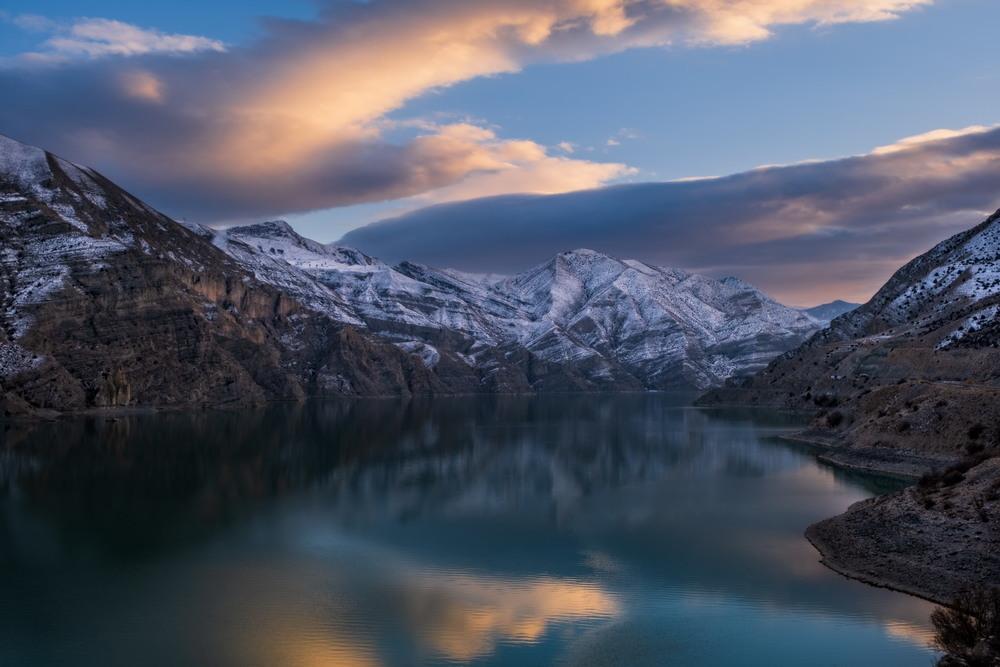 Sunset At Tortum Lake Автор: Сергей Вовк