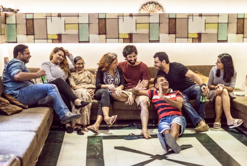 1 Семья Матхур. Нью-Дели, Индия