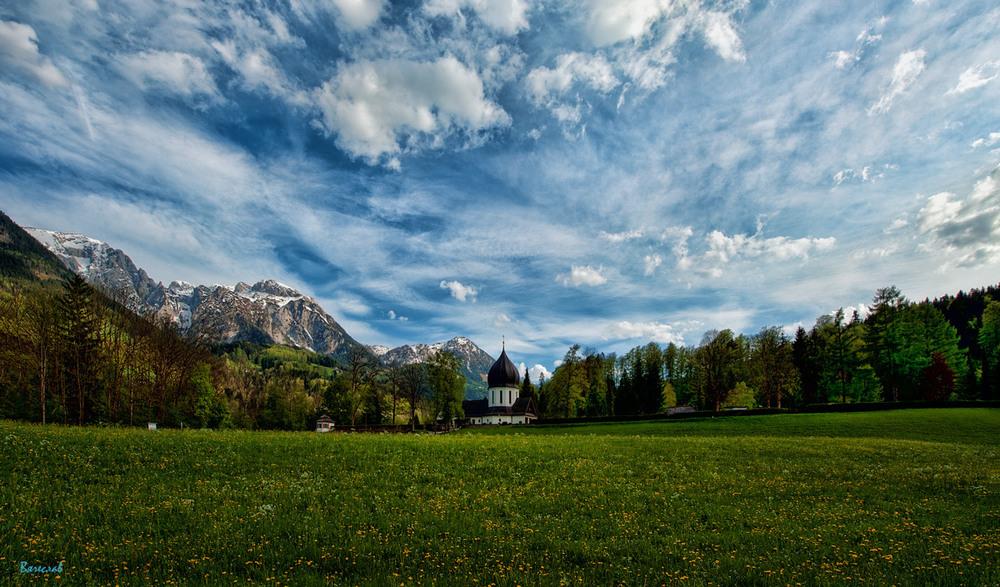 На альпійському лужку... Автор: Вячеслав