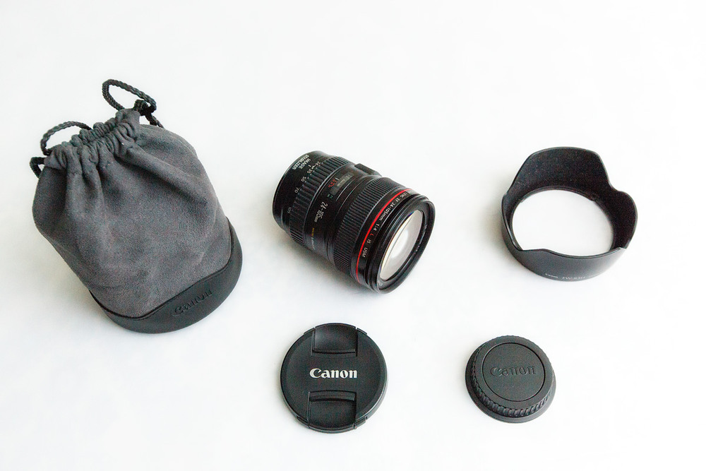Объектив CANON ZOOM LENS EF 24—105mm 1: 4 IS USM
