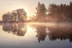 Осенний рассвет...
