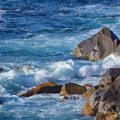 Азори. Берег океану