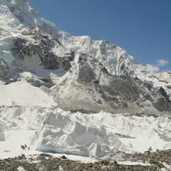 Base camp Everest. Khumbu