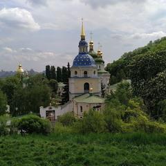 Видубицький монастир. Травень