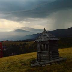 Дощ на Чорногорі