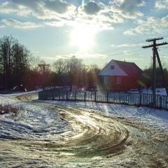 Морозний день