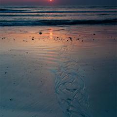 Водой по песку