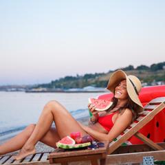 лето, море, арбузик..