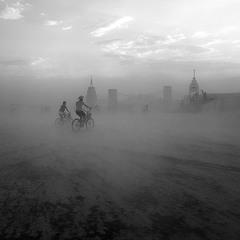 пыльный город