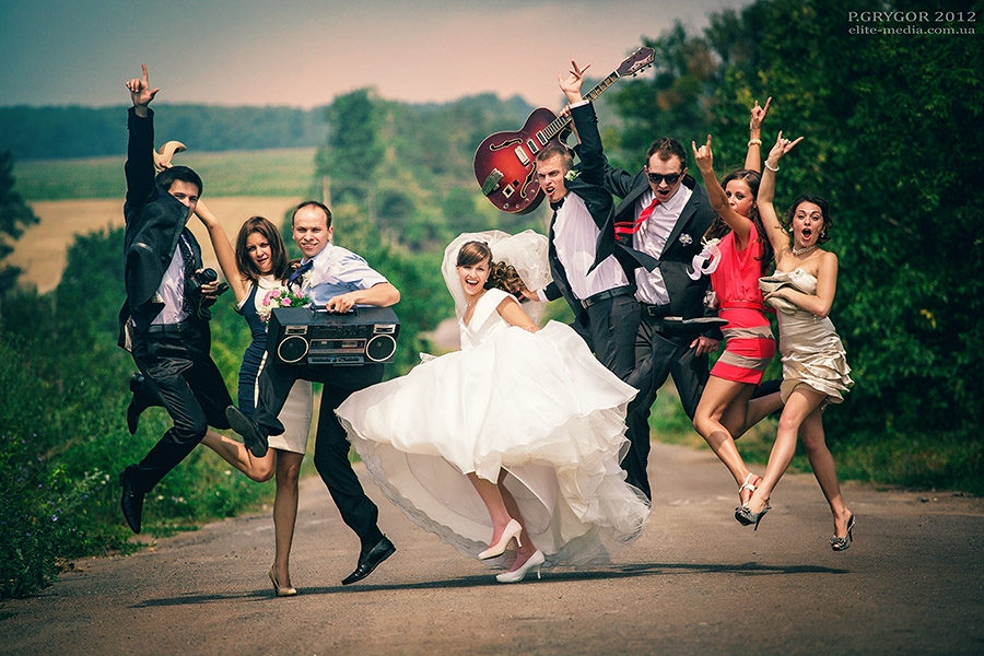 как было рок свадьба фото знала