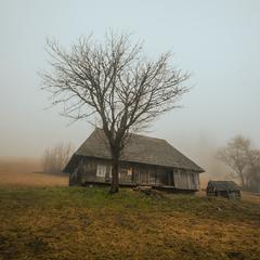 Заброшенный дом в Карпатах