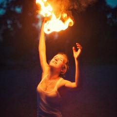 Восхищаться огнем