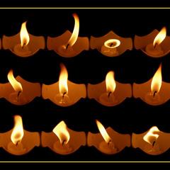Несколько минут из жизни одной свечи....