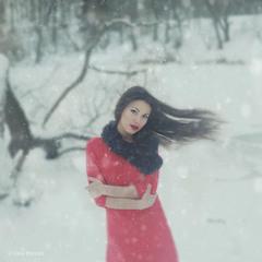 холодный январь