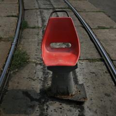 Трамвай уехал, стул остался))