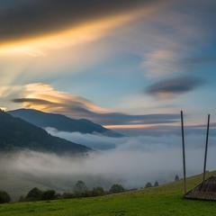 рассвет на межигорском перевале