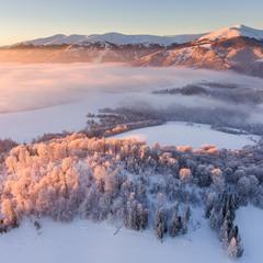 Зимняя сказка Карпат