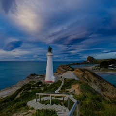 Castlepoint. North island. New Zealand