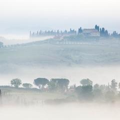 Туманное утро в Тоскане