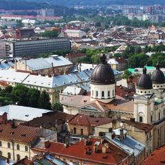 крыши Львова #1