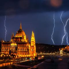 Негода в Будапешті