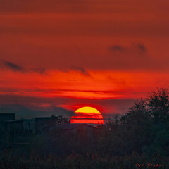 Рассвет на хуторе