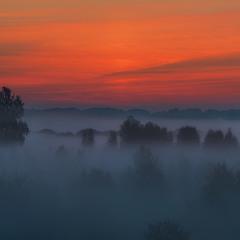 Светало… Выплывал туман...