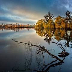 Осенний закат...