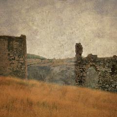 Руины крепости Каламита