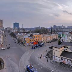 Немного вечернего Киева...