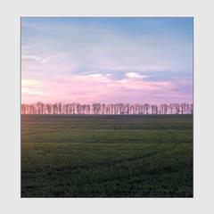 Весенне-полевой закат...