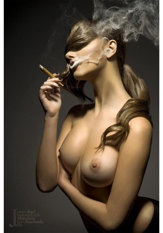 увидел фото девушки эротично с сигарами девушек достойна