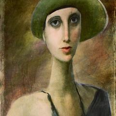 Портрет еврейской девушки